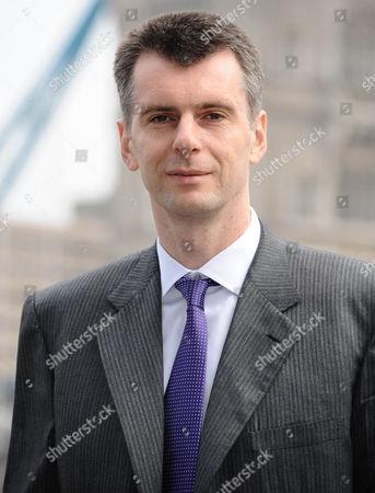 Stock Photo of Mikhail Prokhorov