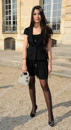 Editorial picture of Guests at the Christian Dior show, Autumn Winter 2011, Paris Fashion Week, Paris, France - 04 Mar 2011