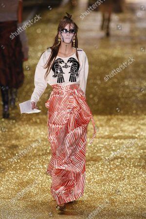 Editorial photo of Vivienne Westwood, Autumn Winter 2011, Paris Fashion Week, Paris, France - 04 Mar 2011