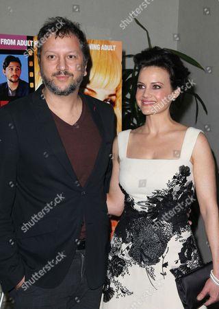 Sebastian Gutierrez and Carla Gugino