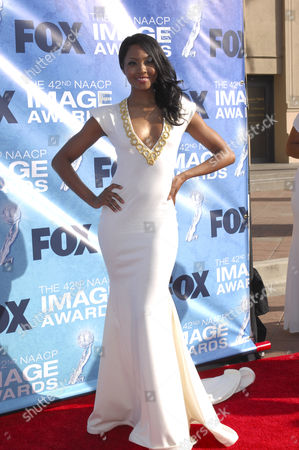 Editorial picture of 42nd NAACP Image Awards arrivals, Shrine Auditorium, Los Angeles, America - 04 Mar 2011
