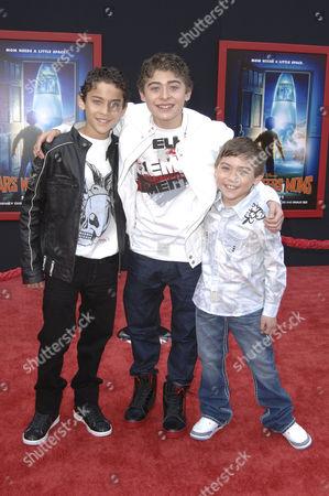 Ryan Ochoa, Robert Ochoa & Raymond Ochoa