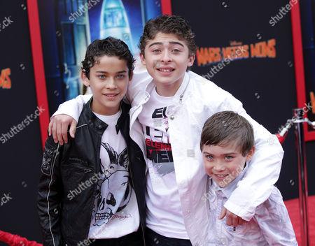 Robert, Ryan & Raymond Ochoa