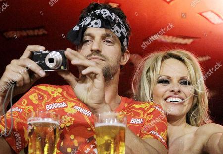 Jon Rose and Pamela Anderson