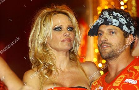 Pamela Anderson and boyfriend, Jon Rose