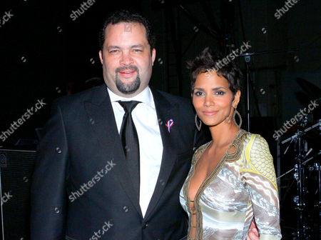 Benjamin Jealous and Halle Berry