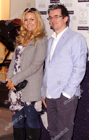 Jo Joyner with husband Neil Madden