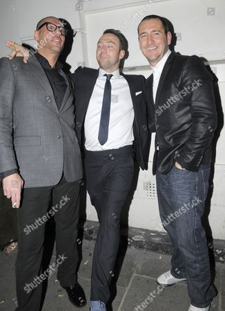 Guest, Tom Crane and Will Mellor