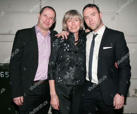 Tom Crane (R), his mother (C) and brother-in-law (L)