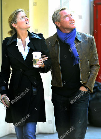 Stock Image of Michael Flatley and His Wife Niamh O Brien