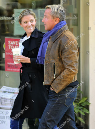 Stock Photo of Michael Flatley and His Wife Niamh O Brien