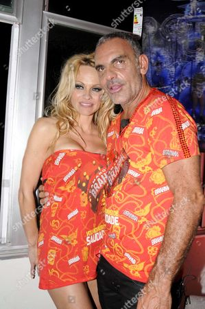 Pamela Anderson and Christian Audigier