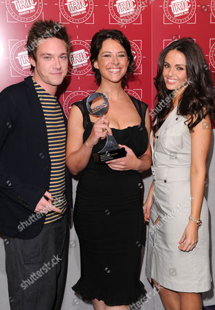 Andrew Moss, Inbetweeners winner and Jennifer Metcalfe