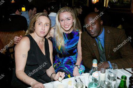 Amelia Troubridge, Noelle Reno and Ozwald Boateng