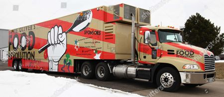 Jamie Oliver's truck