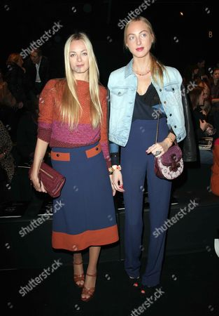 Virginie Courtin Clarins and her sister Claire