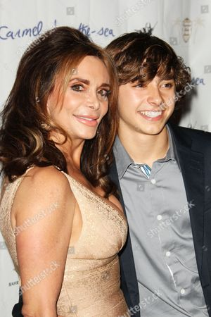 Stock Image of Jansen Panettiere and Mother Lesley Panettiere