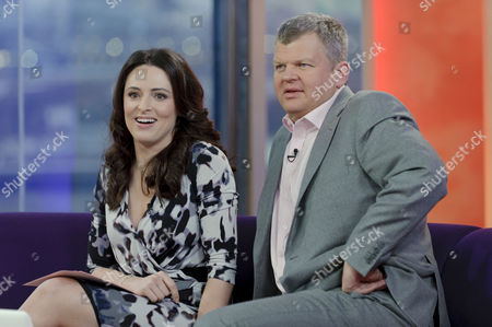 Presenters Grainne Seoige and Adrian Chiles