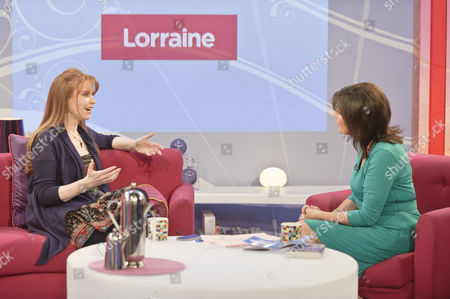 Editorial picture of 'Lorraine Live' TV Programme, London, Britain - 10 Mar 2011