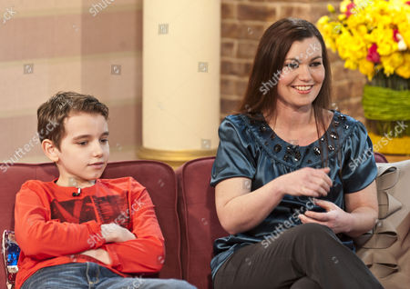 Twelve year old Michael McKenzie and mother Ginette