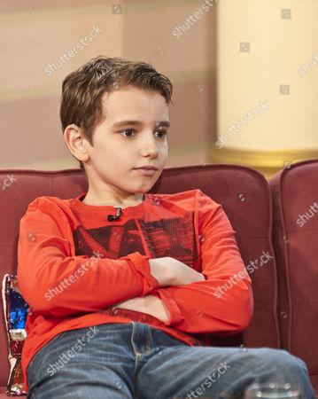 Twelve year old Michael McKenzie