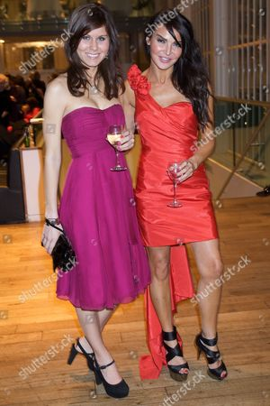Laura Moore and Lizzie Cundy