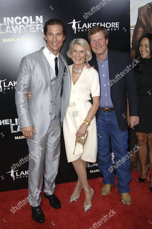 Matthew McConaughey, mother Kay McCabe and brother Rooster McConaughey