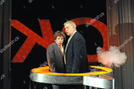 Gerard Kearns (Alan) and Matthew Kelly (Frank)