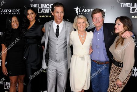 Camila Alves, Matthew McConaughey, Kay McCabe and Brother Rooster McConaughey
