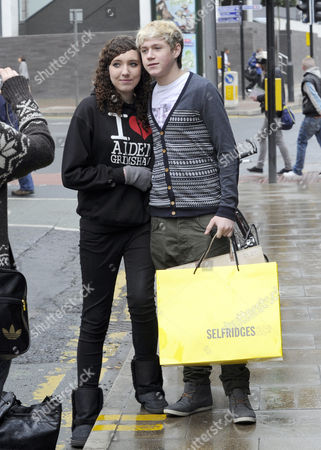 A female admirer with Niall Horan