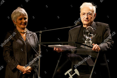 Aliza Olmert and Frank Gehry