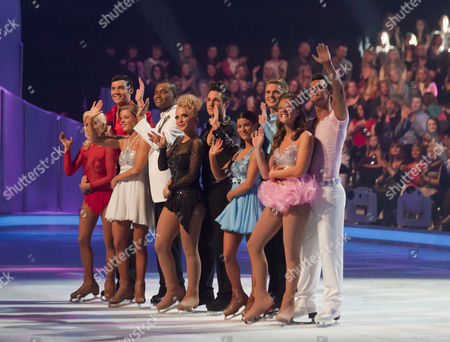 Sam Attwater with Dancing partner Brianne Delcourt.   Johnson Beharry VC with Dancing partner Jodeyne Higgins.   Laura Hamilton with Dancing partner Colin Ratushniak, .  Jeff Brazier and dancing partner Isabelle Gauthier.   Chloe Madeley with Dancing partner Michael Zenezini.