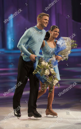 Jeff Brazier and dancing partner Isabelle Gauthier