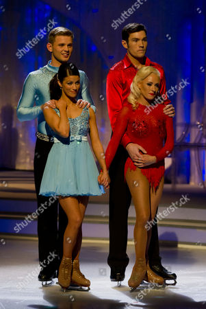Jeff Brazier and dancing partner Isabelle Gauthier, Sam Attwater with Dancing partner Brianne Delcourt