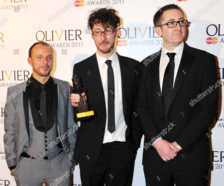 winners of Best Musical Revival for Into The Woods: Liam Steel, Timothy Sheader, William Village