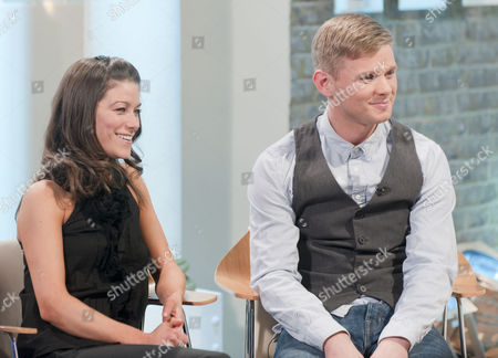 Stock Picture of Jeff Brazier and dancing partner Isabelle Gauthier