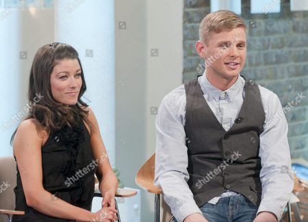 Stock Image of Jeff Brazier and dancing partner Isabelle Gauthier