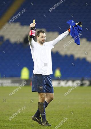 Man of the match, Ipswich Town goalkeeper Marton Fulop