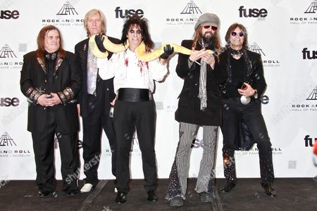 Editorial picture of 26th Annual Rock And Roll Hall Of Fame Induction Ceremony, Press Room, New York, America - 14 Mar 2011