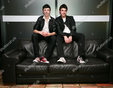 Stock Photo of Ben Hazelby and Jamie Hazelby