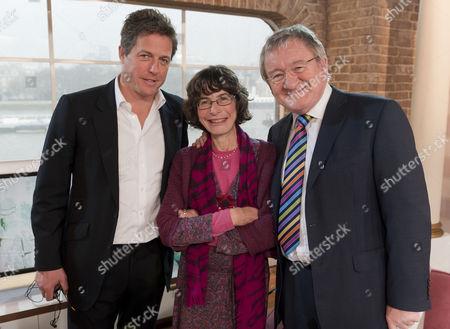 Hugh Grant, GP Ann McPherson and Dr Chris Steele.