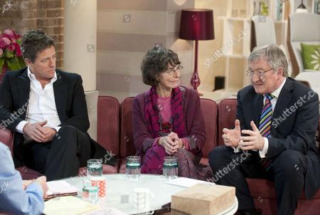Hugh Grant, GP Ann McPherson and Dr Chris Steele