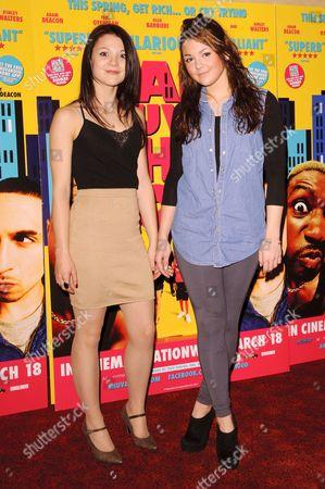 Stock Image of Megan Prescott and Kathryn Prescott