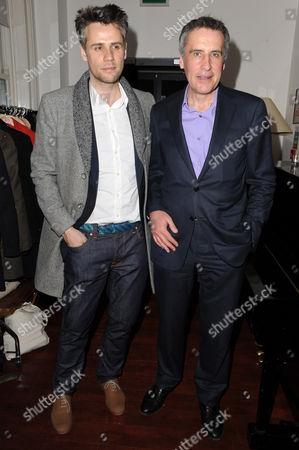 Richard Bacon and Dermot Murnaghan
