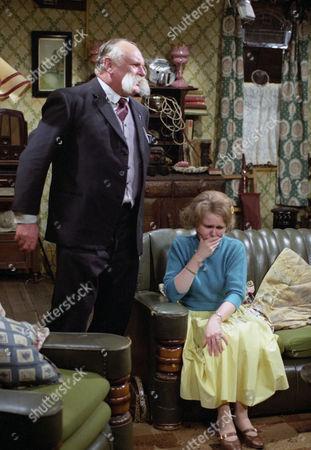 Jimmy Edwards and Patricia Brake