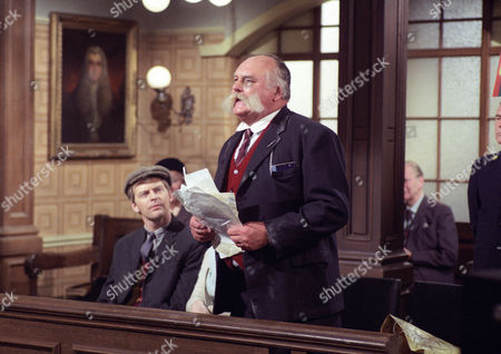 Ian Lavender and Jimmy Edwards