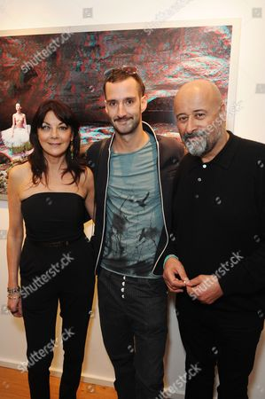 Stock Picture of Susan Young, Matjaz Tancic and Richard Young