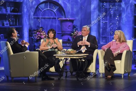 Alan Titchmarsh with Jane McDonald, Richard Barnes - Deputy Mayor of London and Carole Malone
