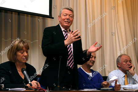 Jackie Ashley, Alan Johnson, Tony Robinson and Ken Livingstone