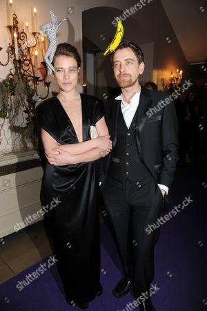 Natalia Vodianova and Scott Douglas